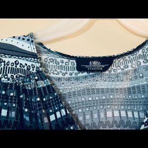 B.MOSS Stretch Wrap Dress